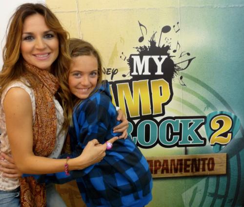 Con Ana Mena