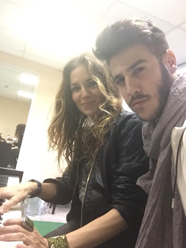 Y seguimos!!! 9h am y ensayando!!! — con Antonio José Sánchez Mazuecos.
